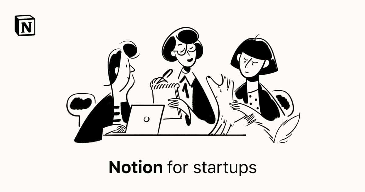 Notion for Startups